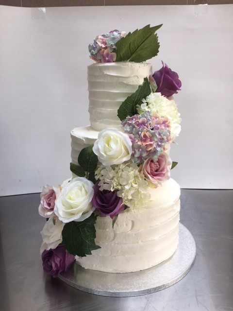 Tort Mireasa Cu Flori Cofetaria Saveur